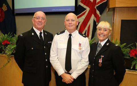 Special Inspector Keith Armstrong Honoured for Long Service