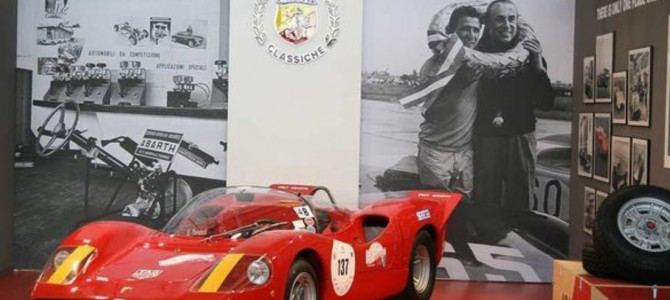 A tour of Abarth's classic car collection in Turin