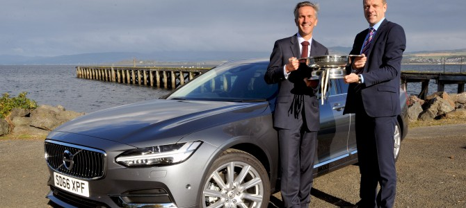 VOLVO V90 REIGNS SUPREME AT SCOTTISH CAR OF THE YEAR AWARDS
