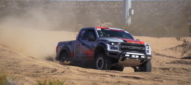Stock Ford F-150 Raptor Competes in the Baja 1000