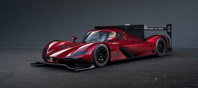 Mazda reveal prototype racer for Daytone IMSA series