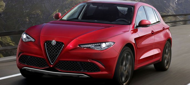 New Alfa Romeo SUV revealed