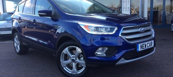 New 2017 Ford Kuga arrives at Invicta Motors