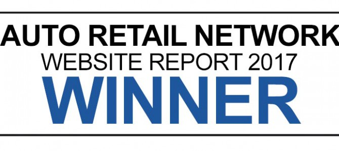 Motorparks Wins Top Franchised Car Dealer Website at the Auto Retail Network Conference 2017