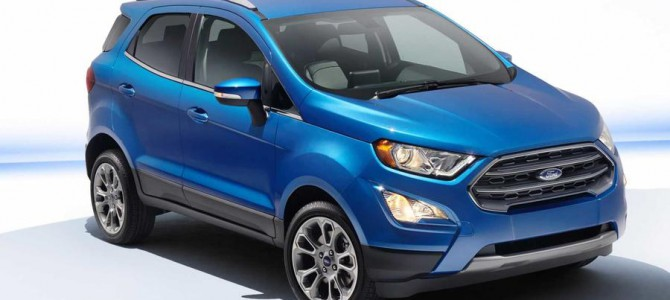 2017 Ford EcoSport debuts at the LA Motor Show