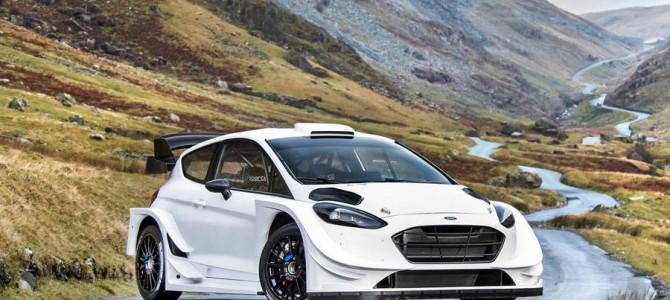 M-Sport reveal their 2017 Ford Fiesta WRC car
