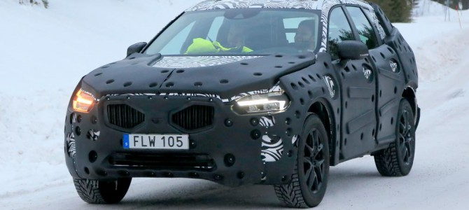 Secret shots of the new Volvo XC60 2017 model – spotted undergoing testing