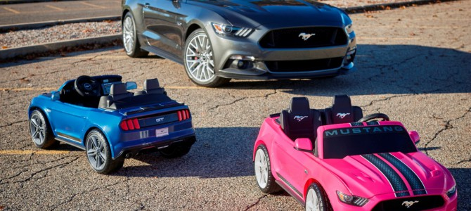 Most Advanced Power Wheels Ford Mustang Ever