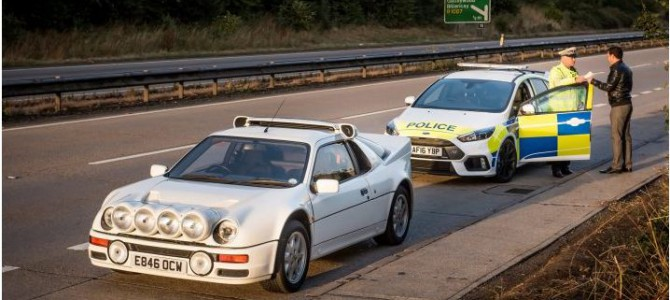 Police Forces Trial Ford Focus RS