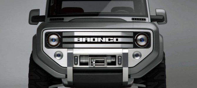 The UK could see the return of the Ford Bronco