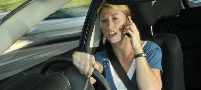 Worryingly, the number of drivers on the phone is on the rise