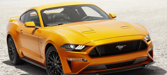 2018 Mustang to get a facelift and new features