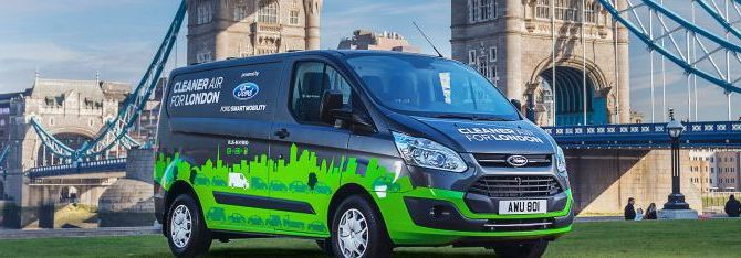 Ford Trials Transit Custom Plug In Hybrid