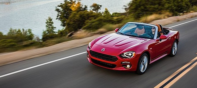 Fiat 124 Spider Named European Gay Car of the Year 2017