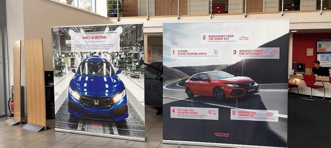 Invicta Tunbridge Wells had their Honda Civic event