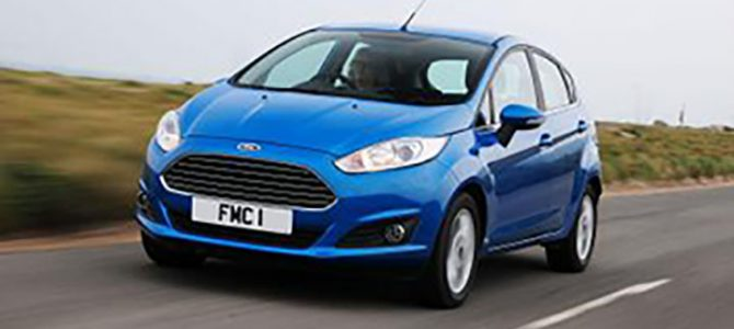 The Ford Fiesta and Focus are the best selling cars in the UK