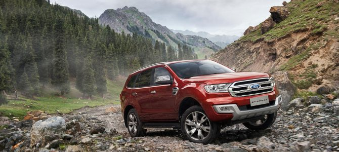 Ranger based Ford Everest to become the New Ford Bronco?