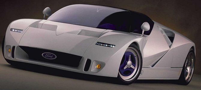 A look back at the Ford GT90 Concept