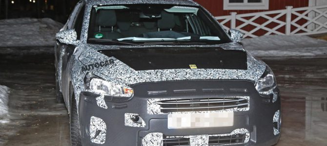 Work under way on the 2019 Ford Focus