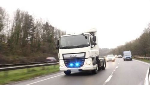 Undercover Police Lorry Launched
