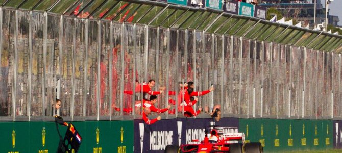 Vettel beats Hamilton in F1 2017 opener
