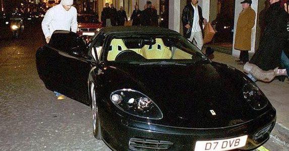 Fancy owning David Beckham's Ferrari?
