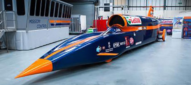 Land Speed record pushed back till 2018