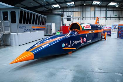 Bloodhound Land Speed Record car to begin initial tests in October!